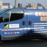Cureton Gas Service Van