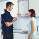 Lady Enquiring About Boiler Replacement In Ellesmere Port