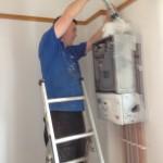 condensing boiler installation in Hoylake